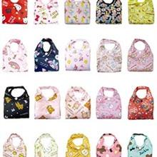 8a7d3015c2 Bonito Dos Desenhos Animados do Gato Olá Kitty My Melody Nylon Dobrável  Saco de Compras Reutilizável Dobrável Sacolas Ecobag Sac.