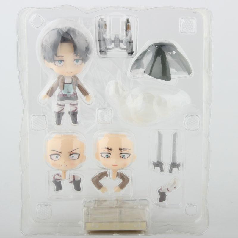 Nendoroid Levi inside the Box