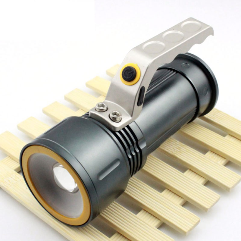 Xm L2 1200lm Aluminum Waterproof Zoomable Led Flashlight Torch Light For 18650 Rechargeable Battery