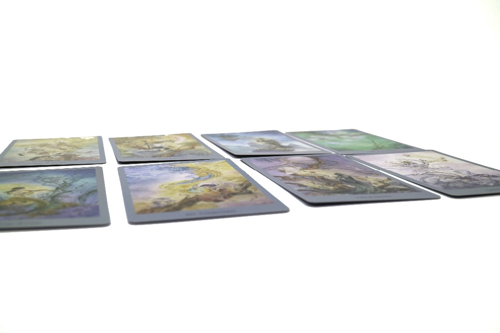 Full English Version beautiful Tarot cards deck divination pictures party board game