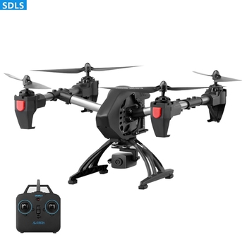 WIFI FPV Adjustable Angle Camera RC Drone Quadrocopter Set Height Hovering One Key Return RC Helicopter Speed Switch APP Control