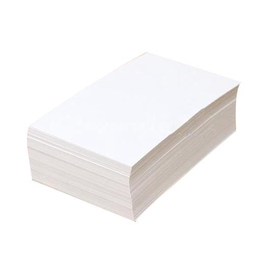 2 PCS Of 100pcs White Blank Business Cards 129gsm - 90 X 50mm - Print Your Own DTY Craft