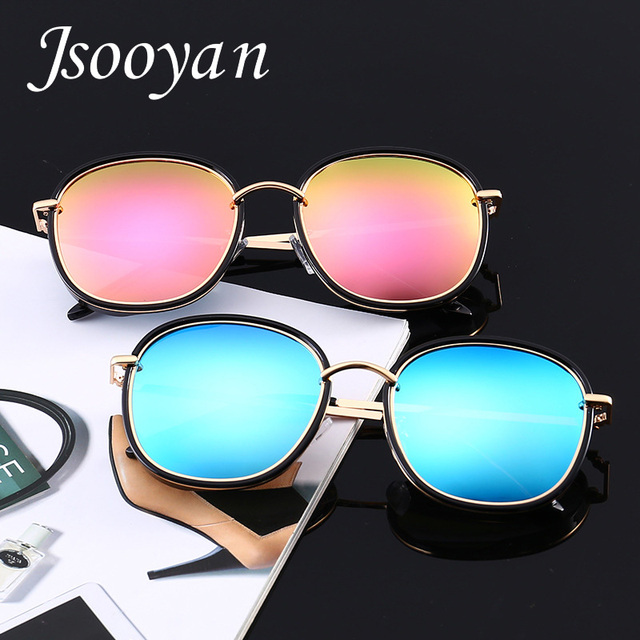b025374d4 Jsooyan Retro Round Polarized Sunglasses Women 2018 Fashion Mirror Lens  Metal Frame Sun Glasses For Men Unisex Outdoor Glass