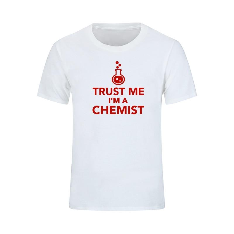 Poletje Novi prihod Zaupajte mi, da sem kemična moška majica, - Moška oblačila - Fotografija 3