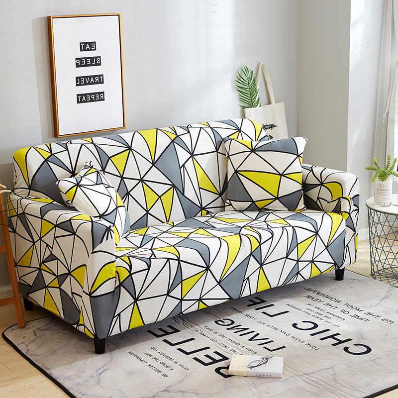 Эластичное диванное покрывало, плотная, все включено, секционная наволочка, Угловое покрытие, кресла, Cubre Sofa Slipcover fundas de sofa модерано