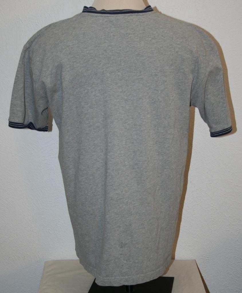 "HTB1t0u dOb.BuNjt jDxh6OzpXaf - DISNEY Mickey Mouse T-Shirt XL Gray V-Neck Chest 48"" S/S Shirt Mens"