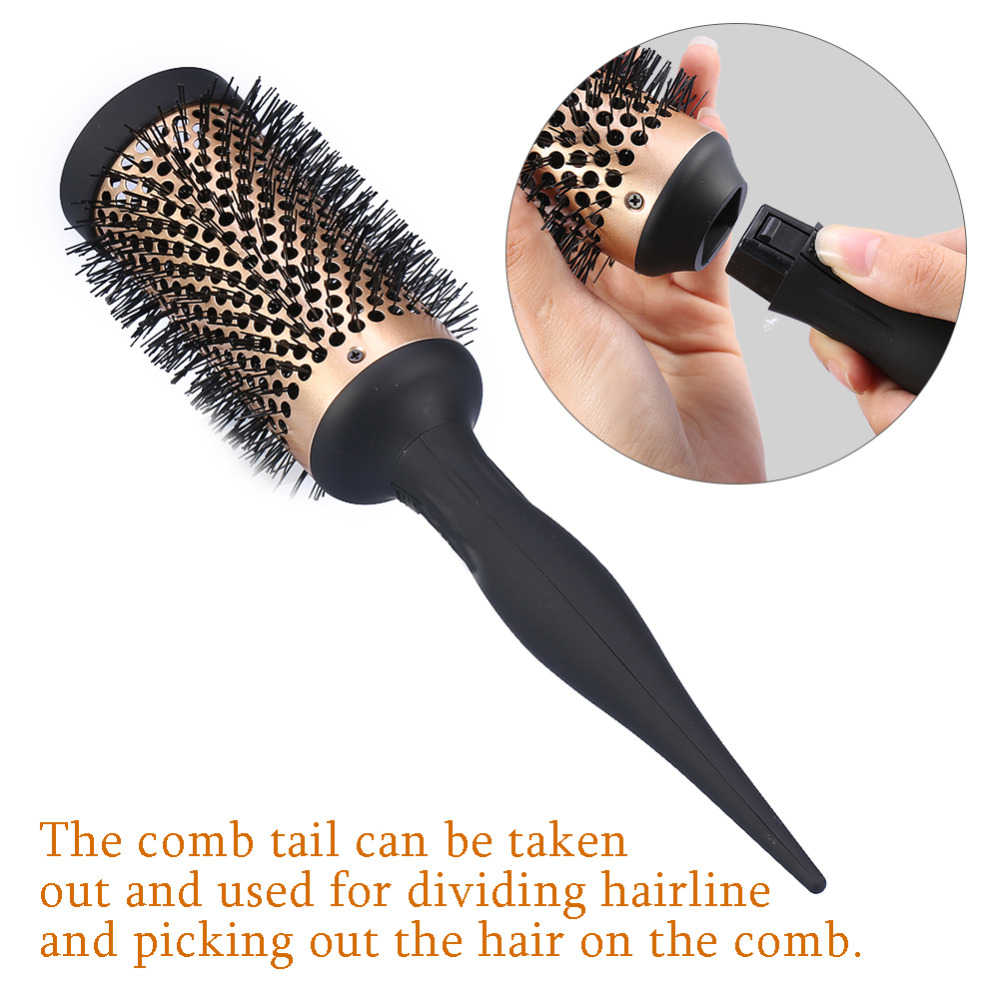 hair comb style 4 sizes salon hair brush ceramic ionic curly hair 5025