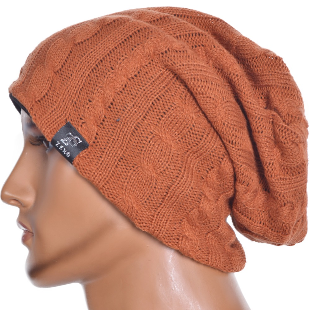 Mens Thin Skullcap Summer Beanie Large Slouch Cool Daily Cap  FORBUSITE