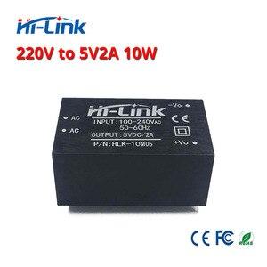 Image 5 - HLK 10M05 AC DC 220V zu 5 V/10 W isoliert intelligente haushalts schalter schritt unten mini netzteil modul für smart gerät