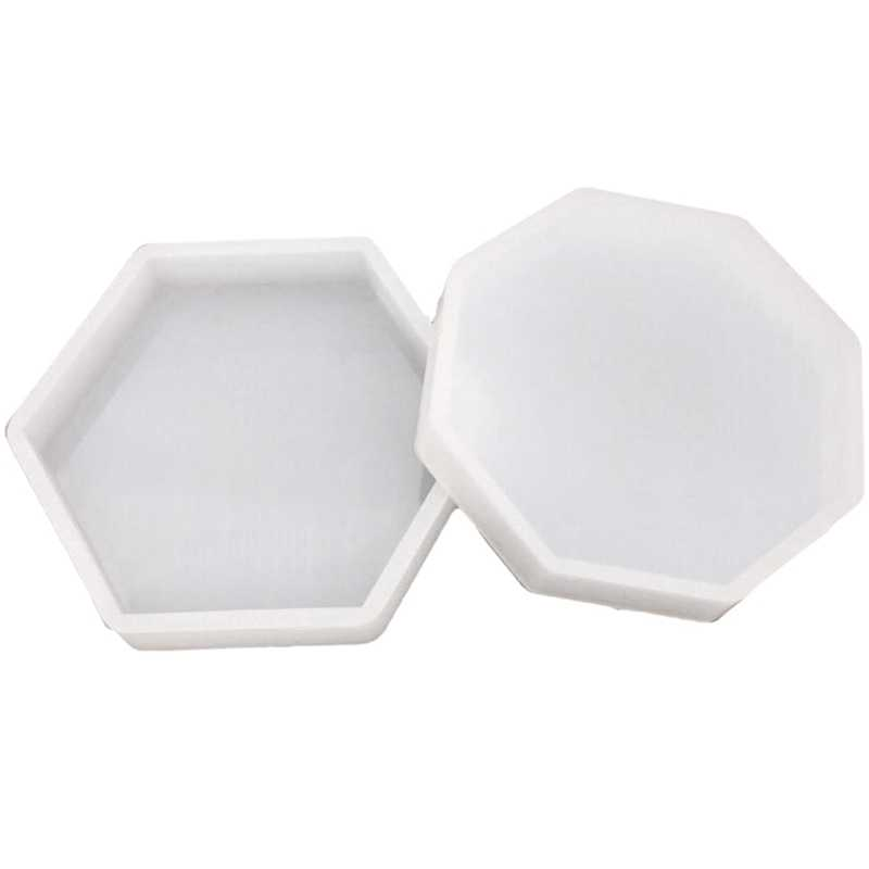 Silicone DIY Exhibition Tray Moulds /& Heart Storage Box Mold Resin Art Mould