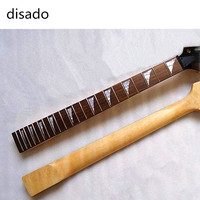 disado 22 Frets Electric Guitar maple Neck with guitar strings nut Wholesale Guitar accessories musical instruments Parts
