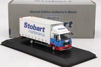 Atlas 1:76 Eddie Stobart Rail Man 4 Wheel Box Van Sammy Shammy Diecast Car Models Toys