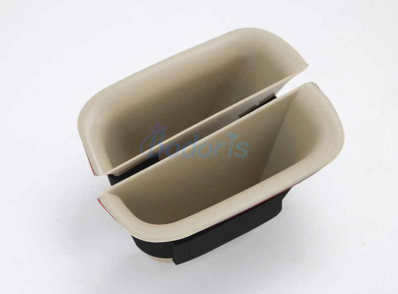 Car Styling Car Organizer Door Holder Armrest Storage Box Tray 2003 2009 For Toyota Land Cruiser 120 Prado FJ120 Accessories in Interior Mouldings from Automobiles Motorcycles