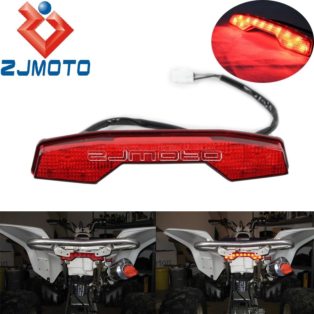 ATV Brake Tail Light For SUZUKI LT R450 LTR 450 Motorcycle LED Rear Taillight Tail Light For Suzuki LTR450|  - title=