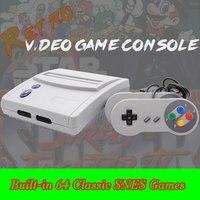 CIVANCA 16 Bit Retro Console per Videogiochi versione NTSC e PAL Costruito in 64 SNES Giochi per SNES Cartucce di Giochi