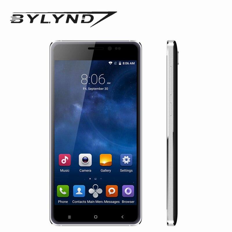 Original bylynd M7 smartphones mtk6580 quad core 1G RAM 8G ROM 5 0 Android 5 1
