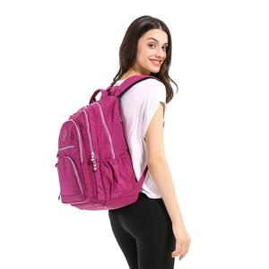 Image 5 - TEGAOTE School Bag Waterproof Nylon Brand Laptop Backpacks For Teenager Women Backpack Leisure Shoulder Bags Computer Packsack