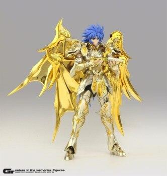 Em estoque GRANDE BRINQUEDOS Gemeos Saga Divina alma de ouro armadura Saint Seiya Cloth Myth EX SOG modelo figura de ação