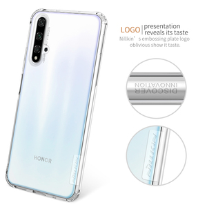 Image 4 - TPU Case for Huawei Honor 20 Pro 20S Nova 5T Casing Nillkin Nature Clear Soft Silicon Soft Cover Huawei Honor 20 Case