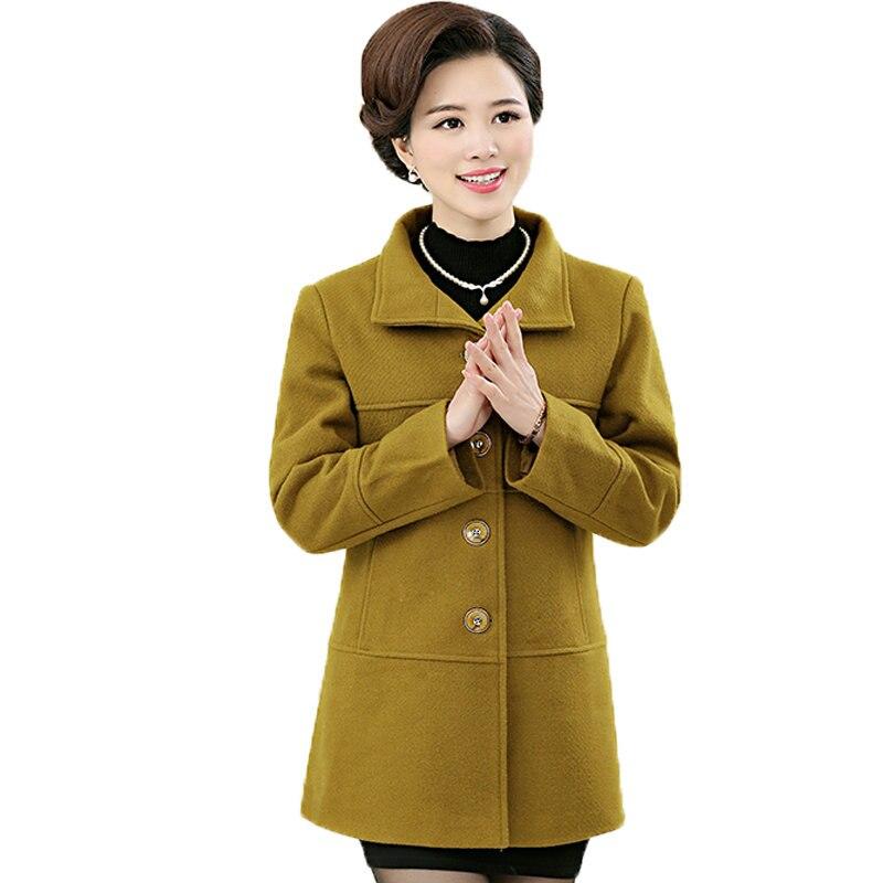 Popular Yellow Ladies Coat-Buy Cheap Yellow Ladies Coat lots from ...