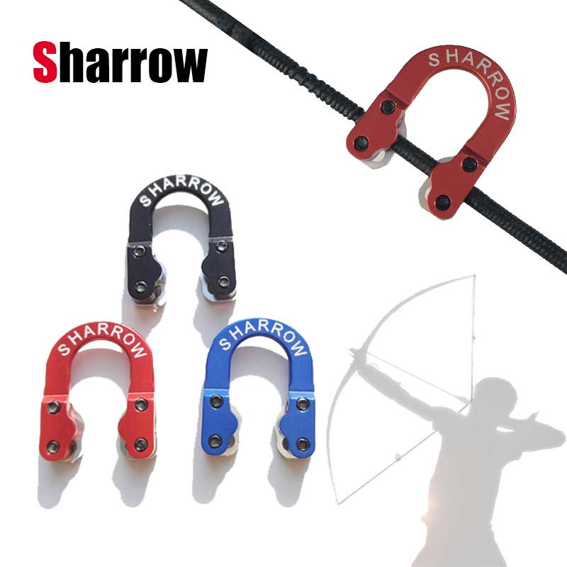 Archery D Loop U Rope Ultra Metal Ring Compound Bow String Arrow Nock