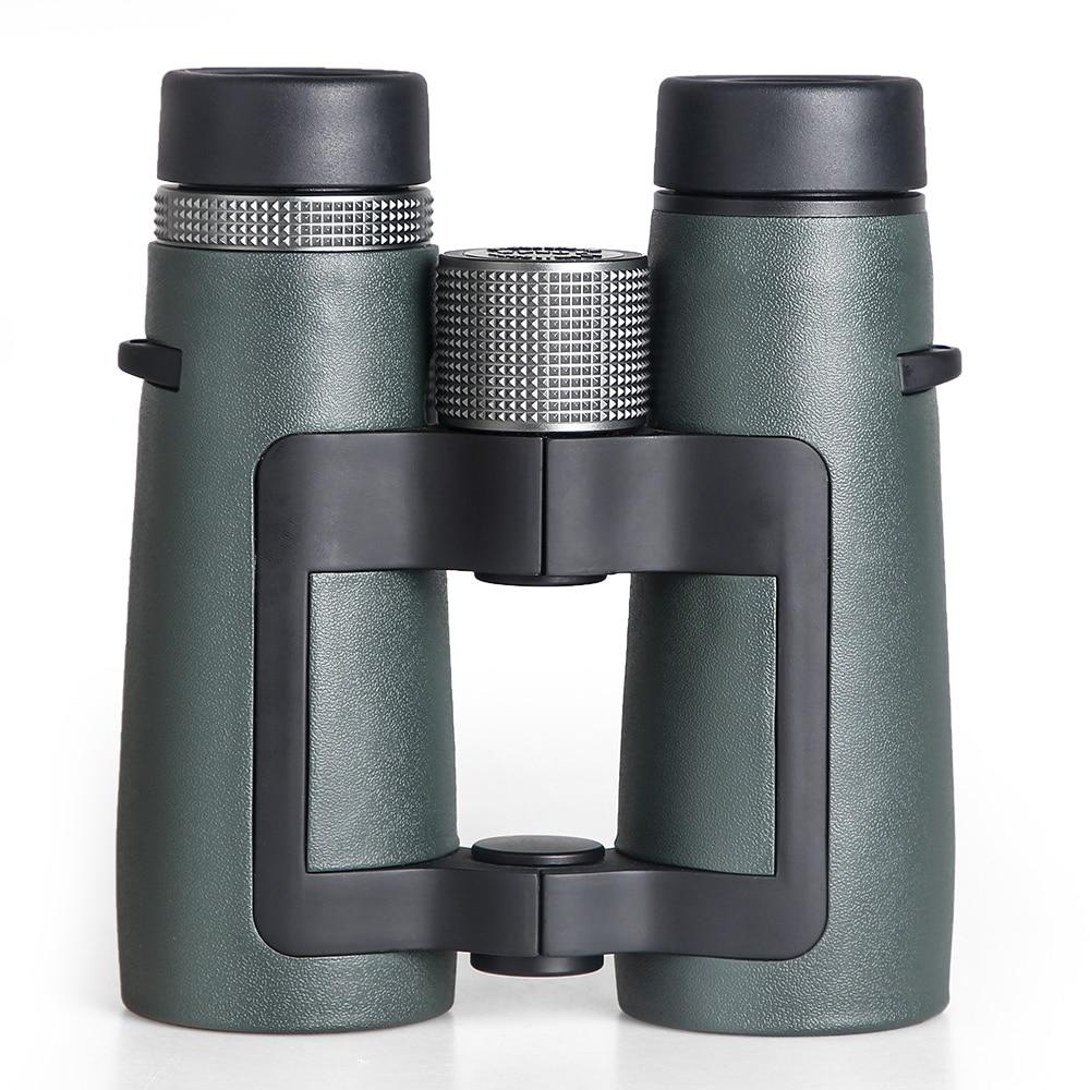 BIJIA 10X42 Nitrogen filled Waterproof Fogproof binoculars Large Eyepiece Professional Bak4 Prism for Hunting Bird Watching