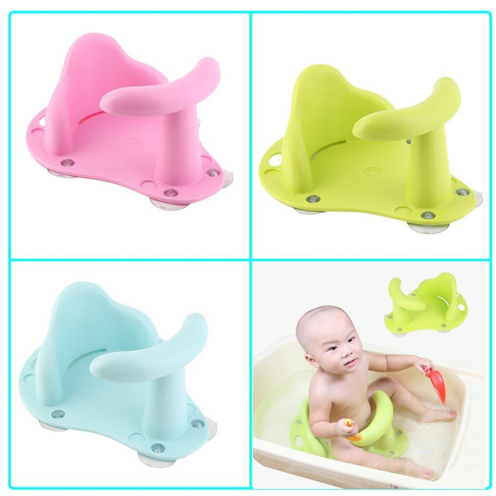 Baby Bath Tub Ring and Baby Bathtub Seat Made with Rubber and ABS Material for Infant Safety 5