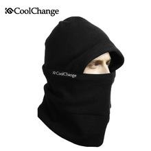 CoolChang Men Women Warm Winter Full Face Mask Bicycle Cap Thermal Fleece Ski Mask Cycling Outdoor Sports Snowboard Bike Scarf недорого