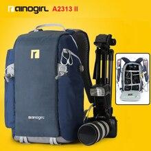 Caliente impermeable bolso de la cámara para nikon canon dslr cámara de fotos mochila para la fotografía accesorios de la cámara digital nikon 3100 3200d