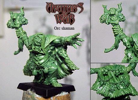 WFB Orc Orc шаманы 28 - Дизайнерлер мен құрылыс ойыншықтары - фото 3
