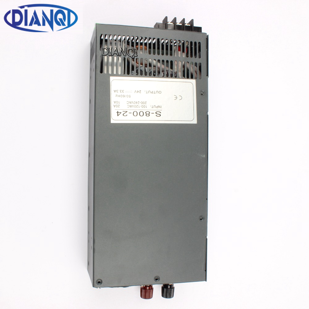 DIANQI power suply 12V 13.5V 15V 24V 27V 36V 48V 60V 800w high quality input 110v 220v ac to dc power supply ac dc converter dc 24v 36v 48v 60v 15v 72v to 12v 4a 48w dc dc converter step down buck module power supply f electric storage battery car