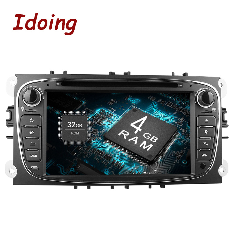 Imaking 4 GB + 32G volant 2Din Android 9.0 pour Ford Focus Mondeo s-max voiture DVD lecteur multimédia prise en charge Radio réseau 3G/4G