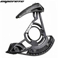 Aoperate sistema de guía de cadena de bicicleta de montaña DH, protector de cadena de bicicleta, de descenso