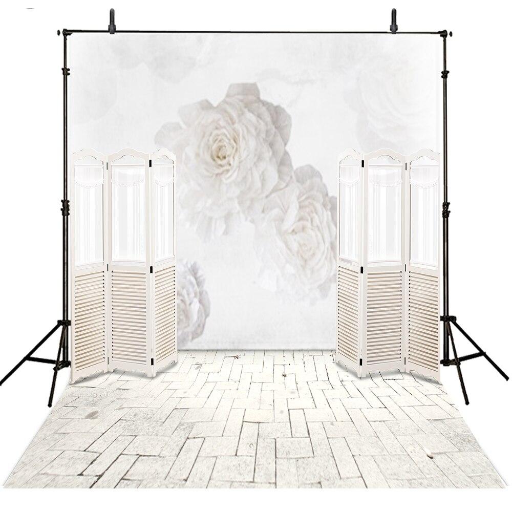 Wedding Photography Backdrop White Vinilo Vinyl Backdrop