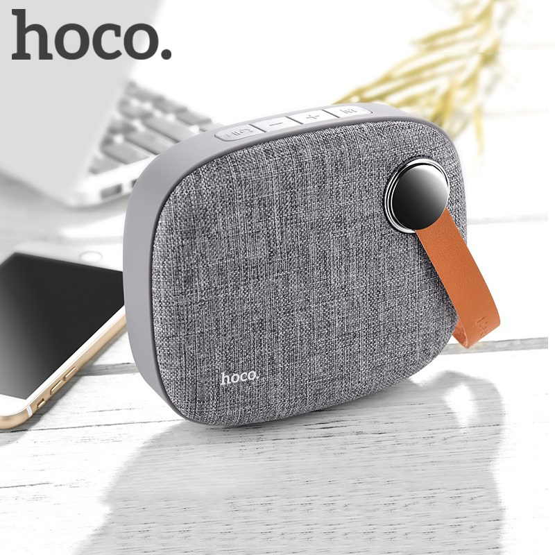 HOCO Mini Bluetooth Speaker Portable AUX for iPhone Samsung Xiaomi Wireless for Phone Computer Car TF USB Audio Player Music original lker bluetooth speaker wireless stereo mini portable mp3 player audio support handsfree aux in