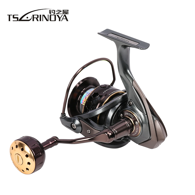 TSURINOYA Jaguar 4000 Spinning Fishing Reel Double Spools 9 + 1BB - Visvangst - Foto 3