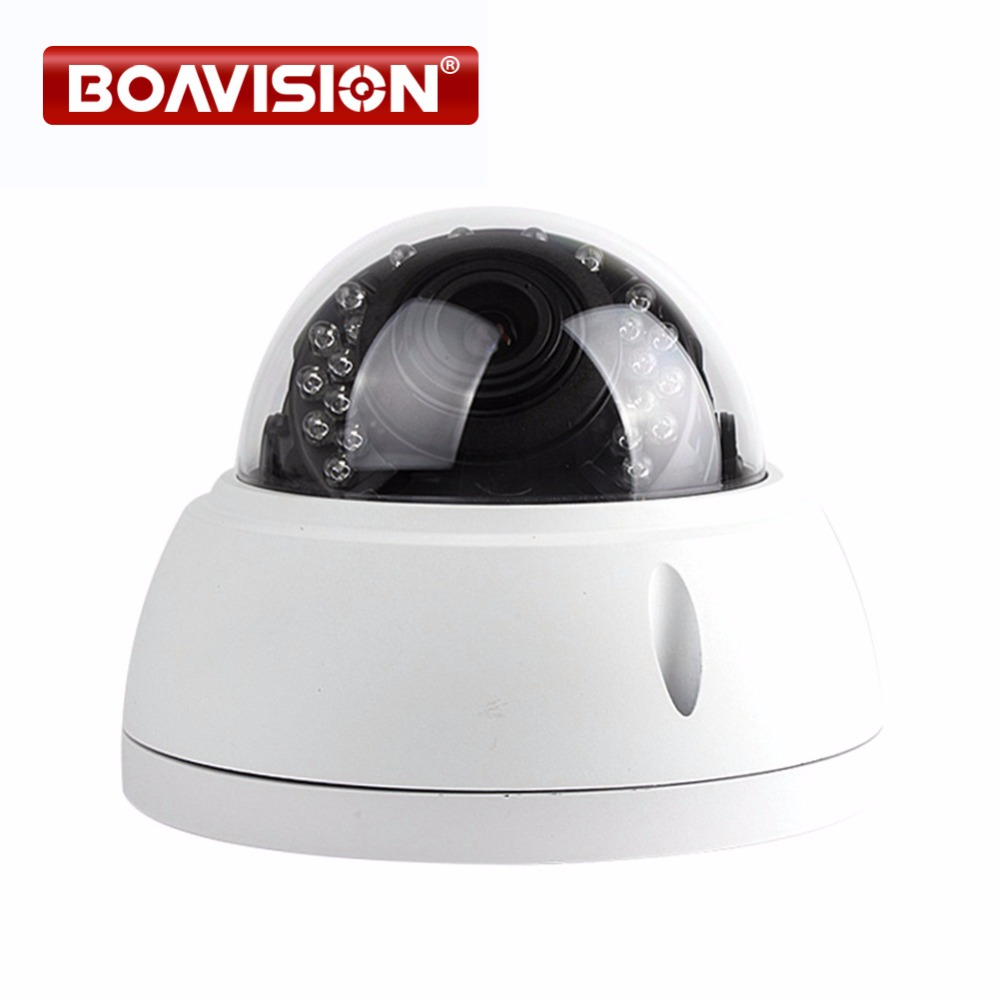 HD 1080P 2MP Dome IP Camera POE Outdoor Vanadal-proof Night Vision IR-CUT 4x Zoom 2.8-12mm Lens Dome Network IP Camera Security 2pcs lot ip camera poe onvif 2 4 vandalproof dome 3 6mm lens 720p hd 1080p indoor 8m ir night vision security camera ip 2mp