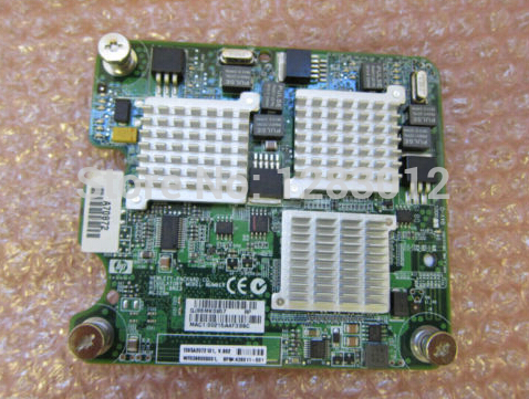 Network Card For NC325m 436011-001 416583-001 BL460C Original Well Tested Working one year warranty  10g sfp optical fiber straight wire 5m connect 10g network card original brand new well tested working one year warranty