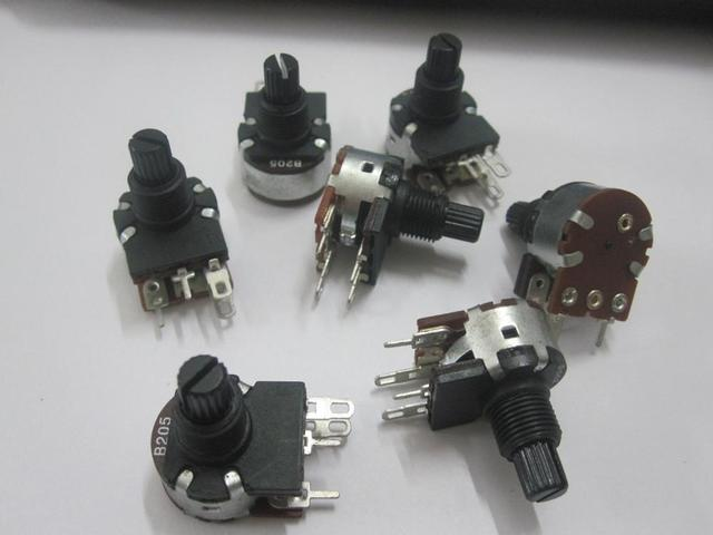 Original new 100% 16mm wiring switch four potentiometer B205/B2M dimmer lighting accessories audio : potentiometer with switch wiring - yogabreezes.com