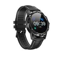 men waterproof SKY 1 Smart Watch Men IP68 Waterproof Heart rate Activity Fitness Tracker Smartwatch Clock for android apple phone (1)