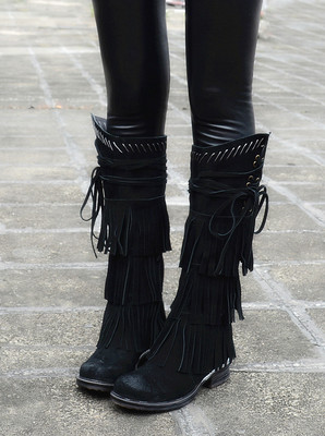 Online Get Cheap Suede Boots Fringe -Aliexpress.com | Alibaba Group