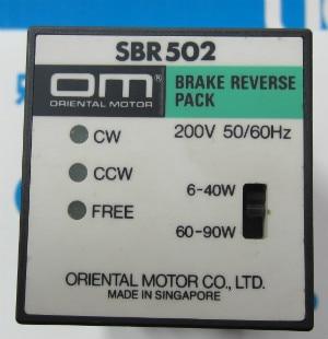 цена на Japan Oriental Motor governor CONTROL SBR502