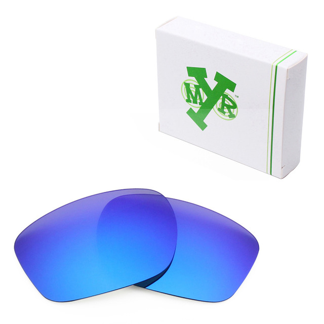 8fa11dc414f MRY POLARIZED Replacement Lenses for Oakley Sliver Sunglasses Deep Blue