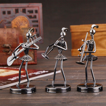 Vintage Home Decor Band Musicians Figurines