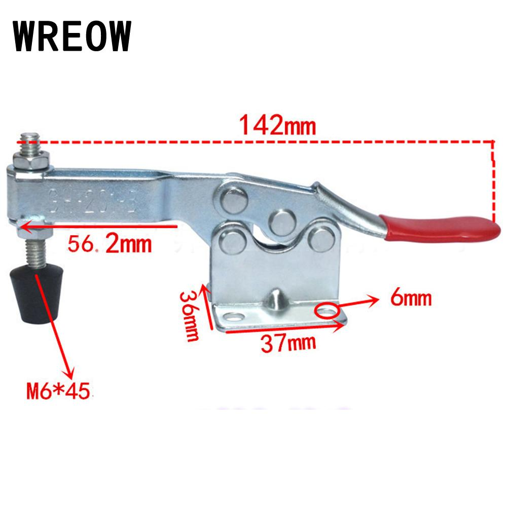 GH201A//201B//201C//225D Hand Tool Metal Holding Capacity Latch Type Toggle Clamp