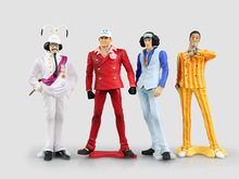 4 Navy Admiral  General Action Figures
