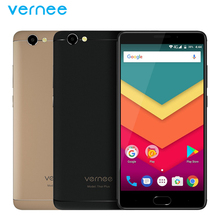Original Vernee Thor Plus Cell Phone 5.5inch Screen 3GB RAM 32GB ROM MT6753 Octa Core Android 7.0 13MP Camera 6200mAh Smartphone