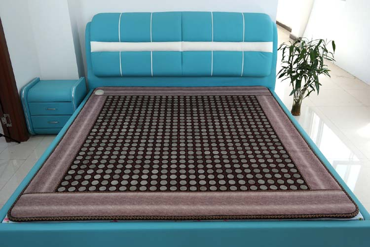 Jade Gauze Germanium Stone Mattress Double Heated Mat Ghysiotherapy Encryption Tourmaline Magnetic Therapy Pad Size 1.2*1.9M pop relax negative ion magnetic therapy tourmaline mat pr c06a 55x120cm ce