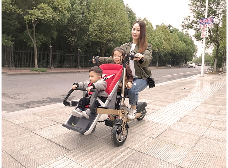 electric 50km taga bike stroller mother baby e scooter