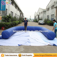 Free shipping Inflatable bowling court for sale toy bowling alley for carnival outdoor event multipurpose U Shaped air tube